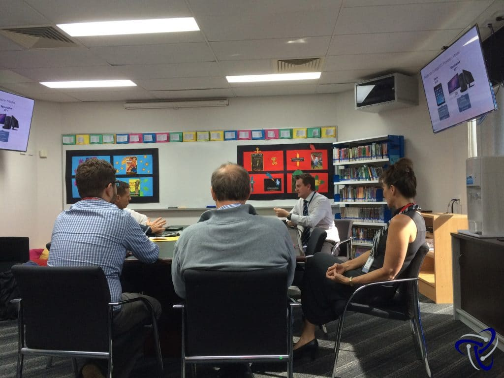 Professional development for teachers, Technology in schools, redlands college open day